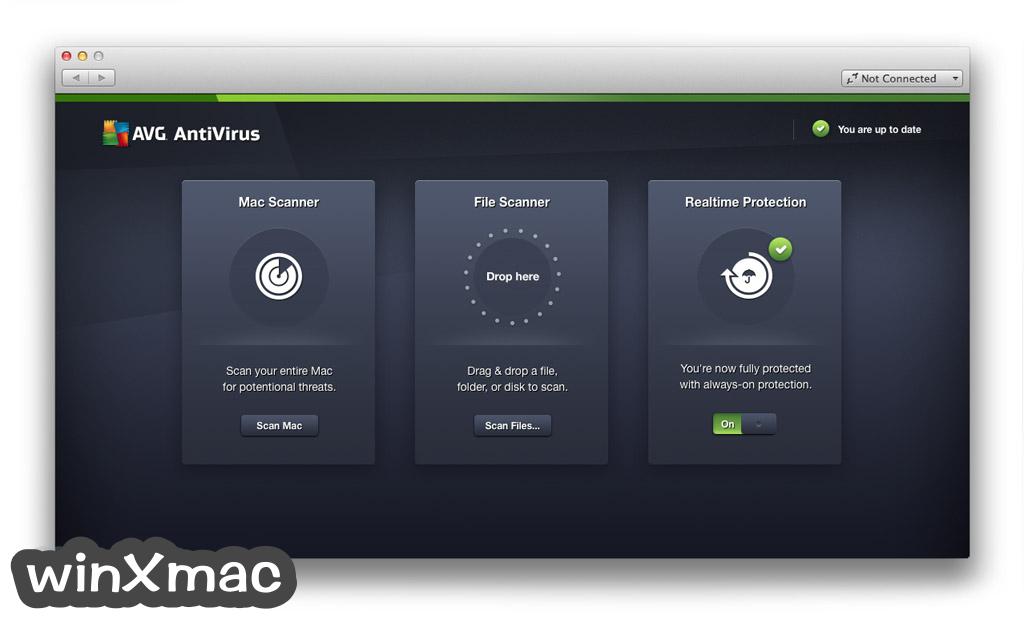 AVG AntiVirus for Mac Screenshot 1