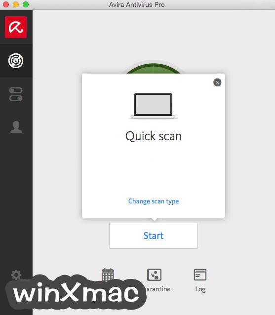 Avira Antivirus Pro for Mac Screenshot 2