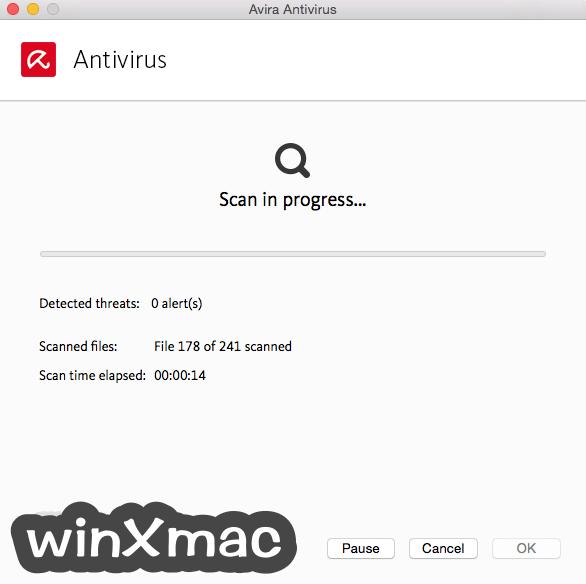 Avira Antivirus Pro for Mac Screenshot 3