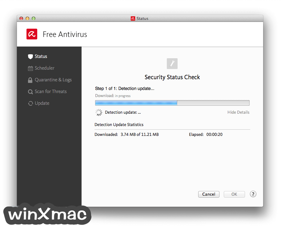 Avira Free Antivirus for Mac Screenshot 2