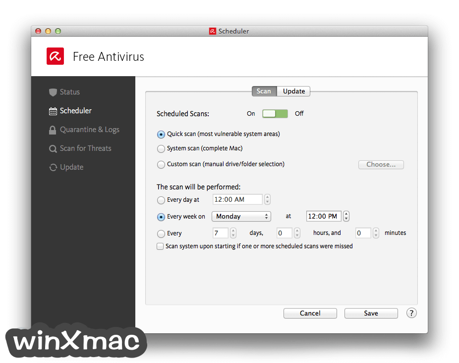 Avira Free Antivirus for Mac Screenshot 3