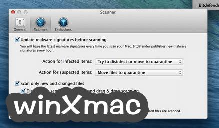 Bitdefender Virus Scanner for Mac Screenshot 3