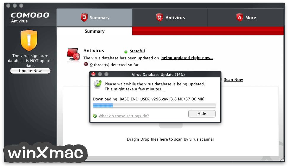 Comodo Antivirus for Mac Screenshot 4