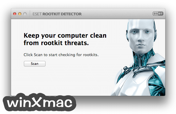 ESET Rootkit Detector for Mac Screenshot 1