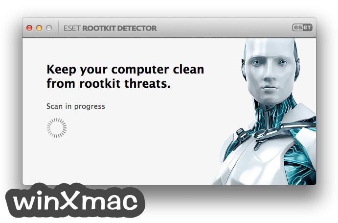 ESET Rootkit Detector for Mac Screenshot 2