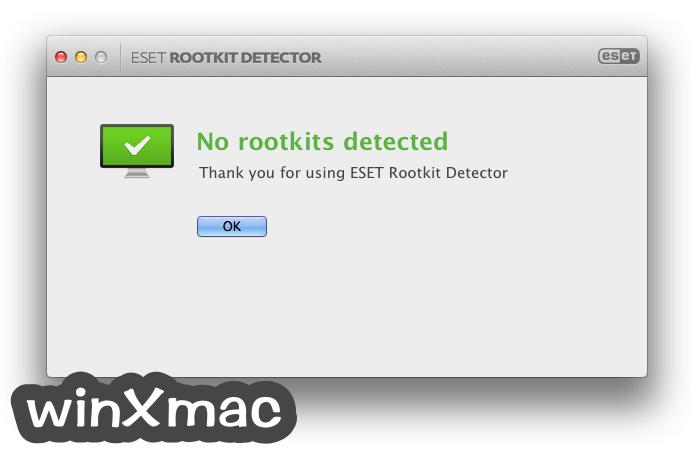 ESET Rootkit Detector for Mac Screenshot 3
