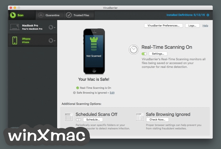 Intego Internet Security for Mac Screenshot 2