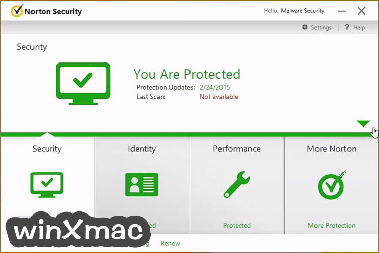 Norton Security for Mac Screenshot 1