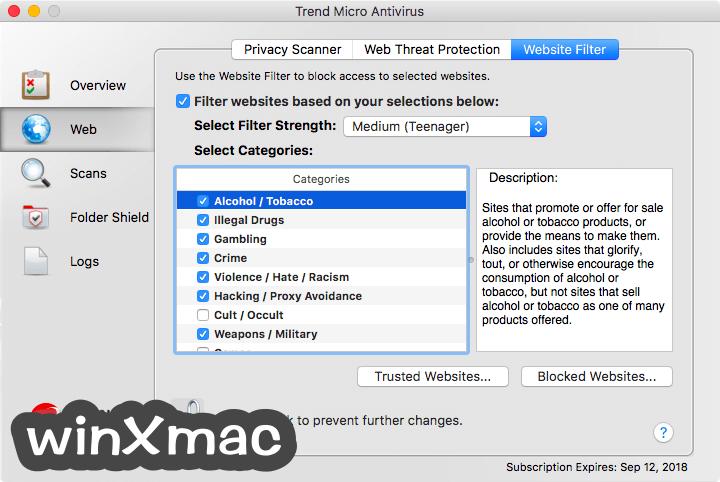 Trend Micro Antivirus for Mac Screenshot 5