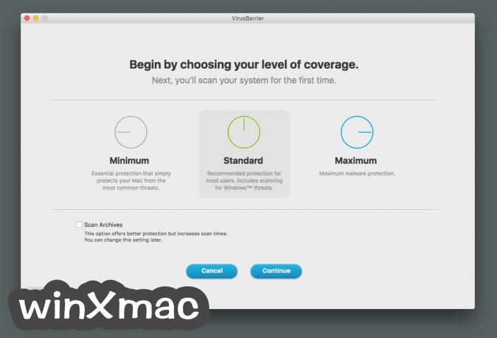 VirusBarrier for Mac Screenshot 2