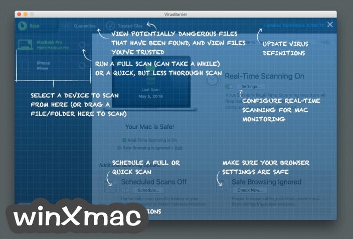 VirusBarrier for Mac Screenshot 3