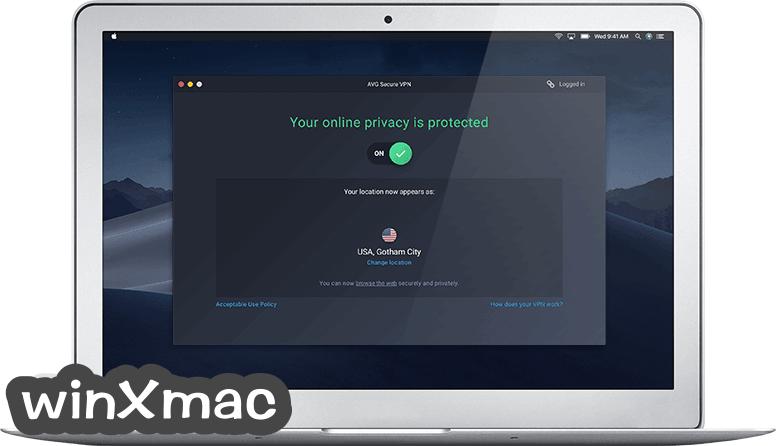 AVG Secure VPN for Mac Screenshot 1