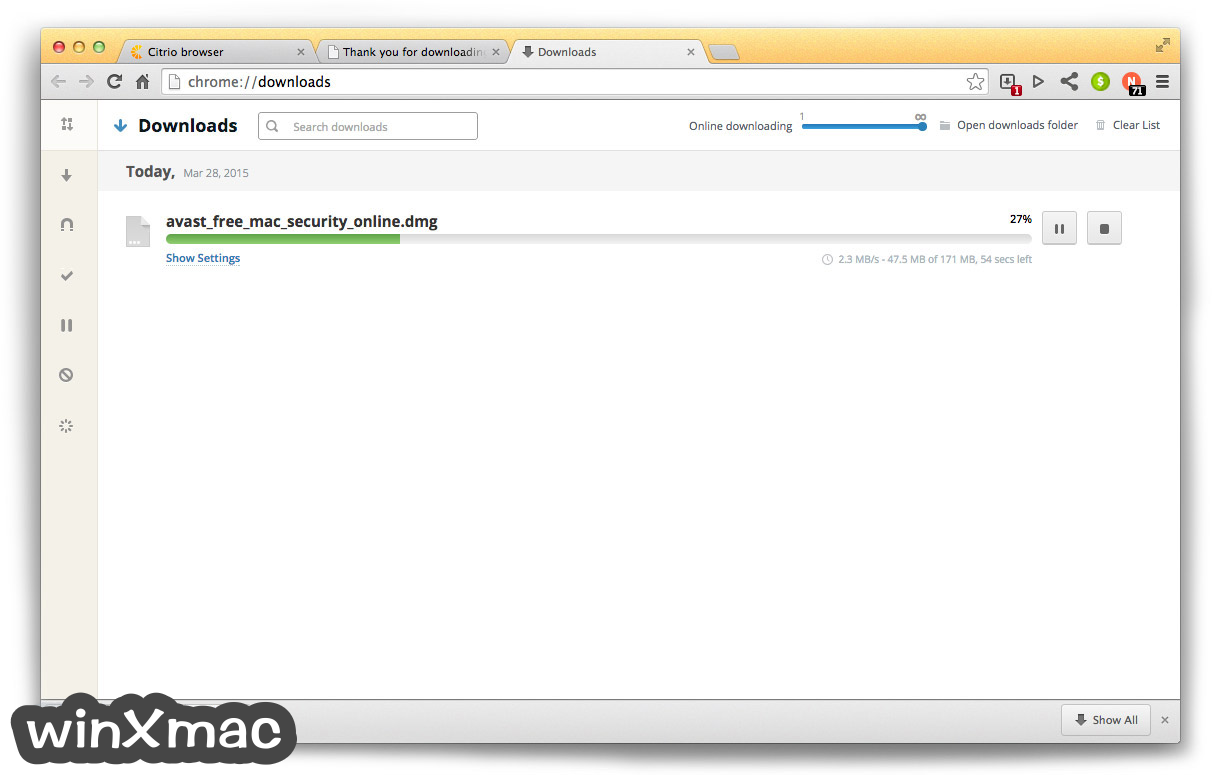 Citrio for Mac Screenshot 3