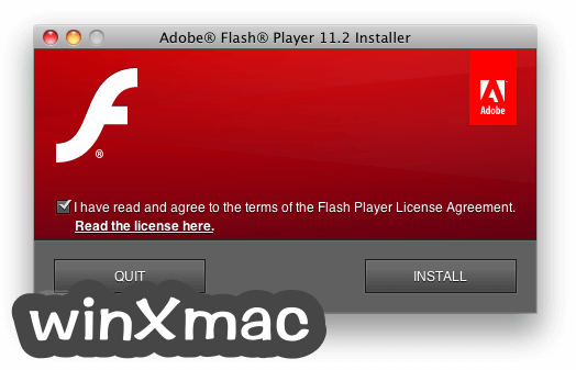 Flash Player for Mac Screenshot 1