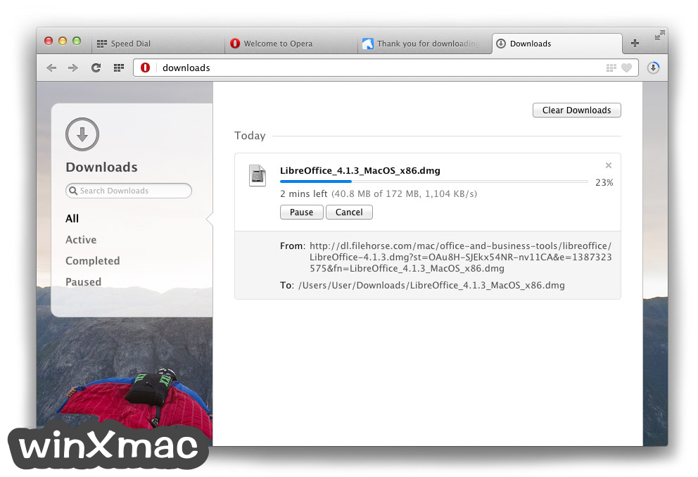 Opera for Mac Screenshot 2