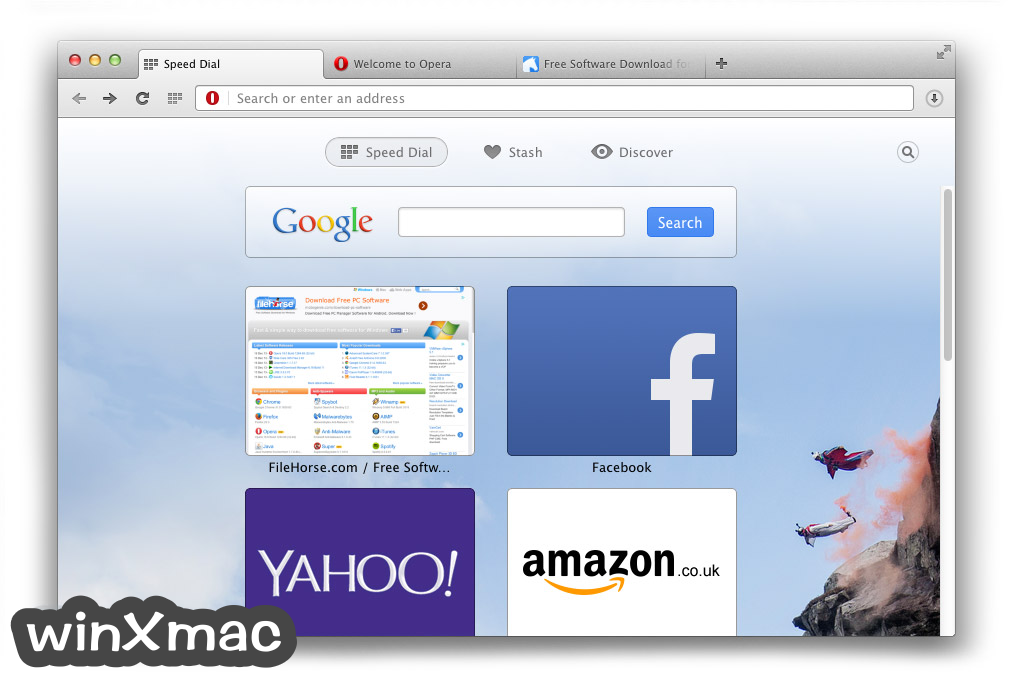 Opera for Mac Screenshot 3