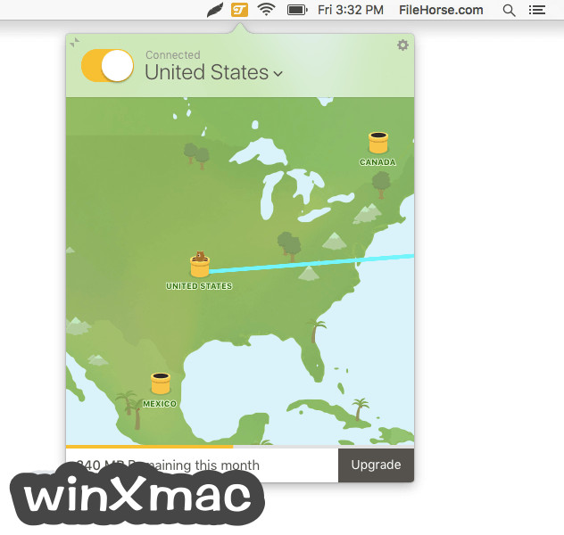 TunnelBear for Mac Screenshot 3