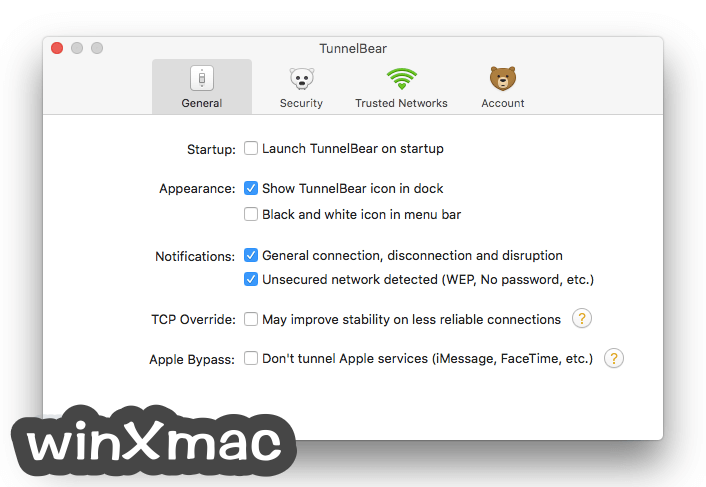 TunnelBear for Mac Screenshot 5
