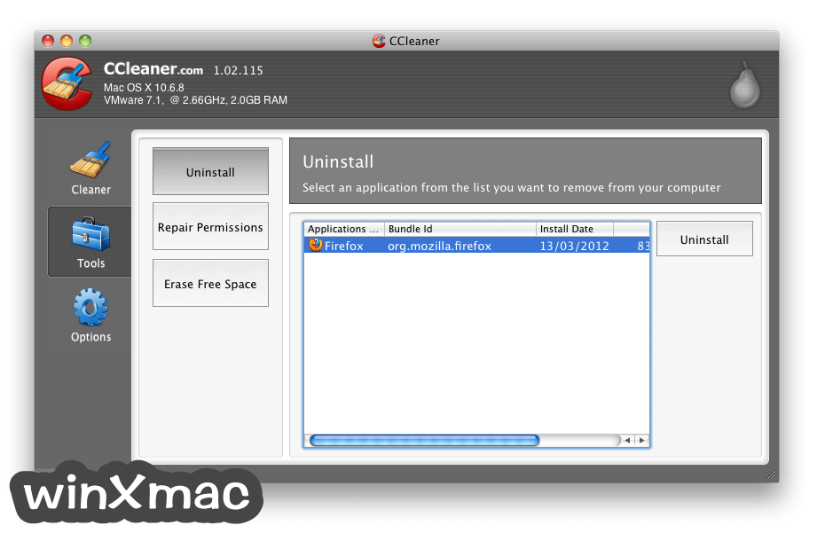 CCleaner for Mac Screenshot 2