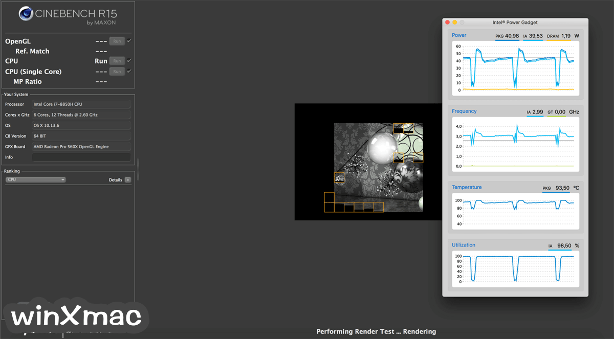 CINEBENCH for Mac Screenshot 1