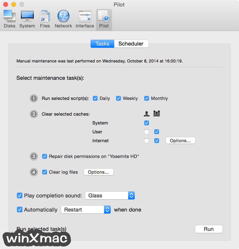 Cocktail for Mac Screenshot 1