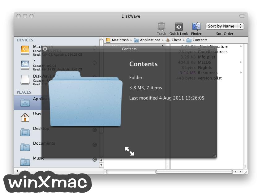 DiskWave for Mac Screenshot 3