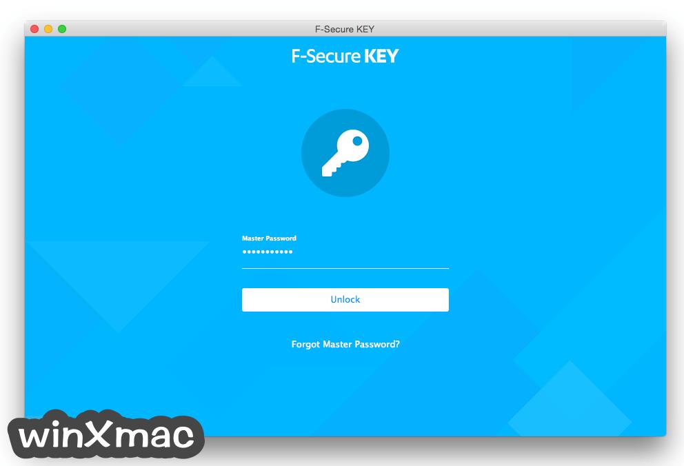 F-Secure KEY for Mac Screenshot 1