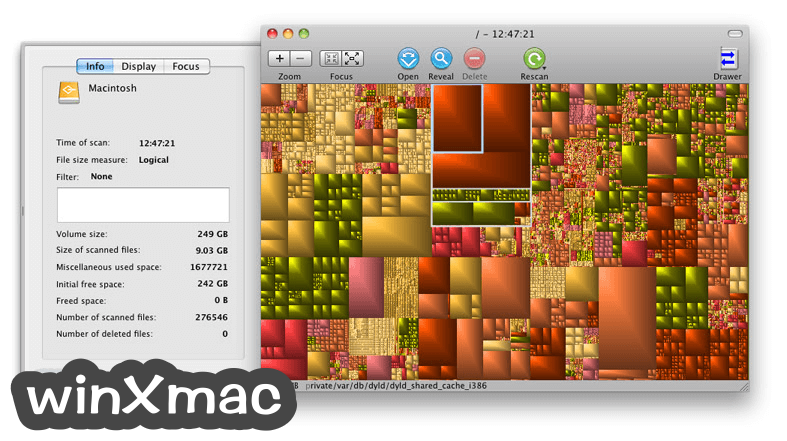 GrandPerspective for Mac Screenshot 3