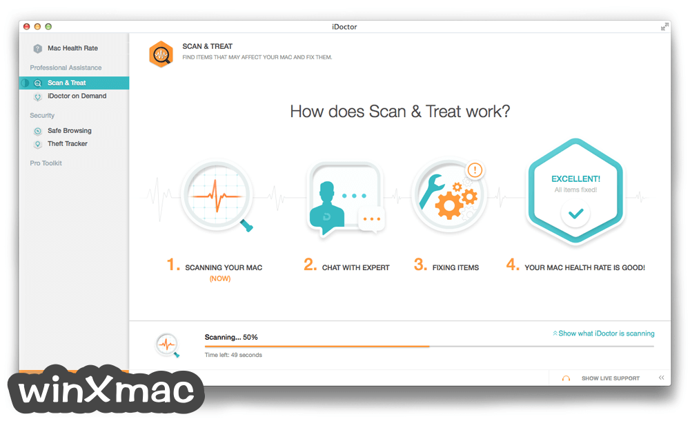 iDoctor for Mac Screenshot 2