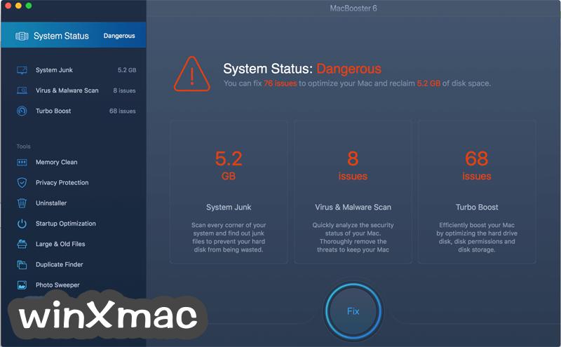 MacBooster Screenshot 1