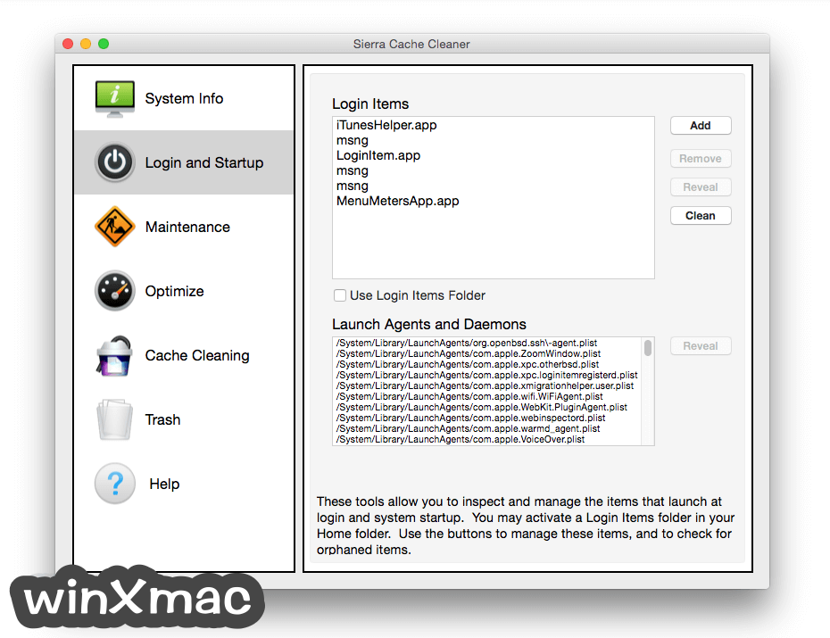 Sierra Cache Cleaner for Mac Screenshot 1