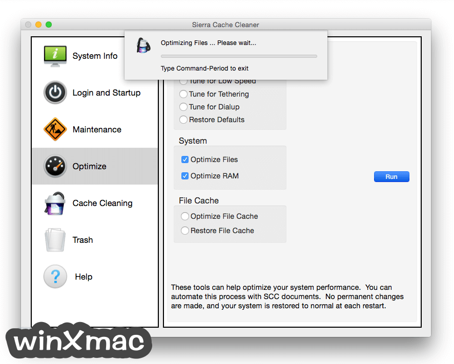 Sierra Cache Cleaner for Mac Screenshot 3
