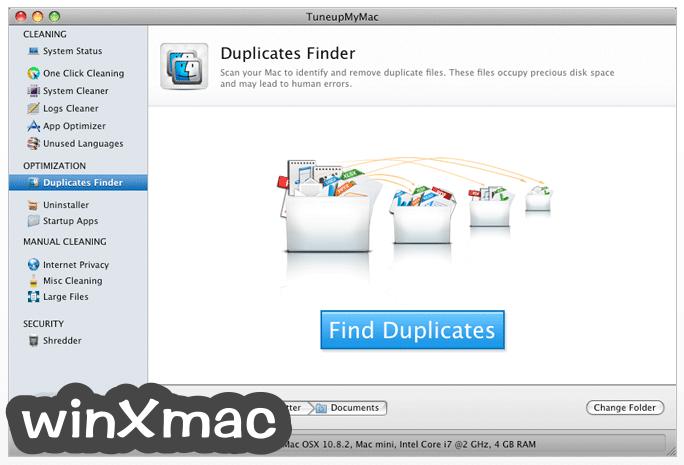 TuneupMyMac Screenshot 4