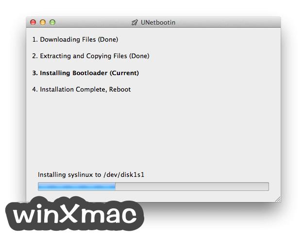 UNetbootin for Mac Screenshot 3