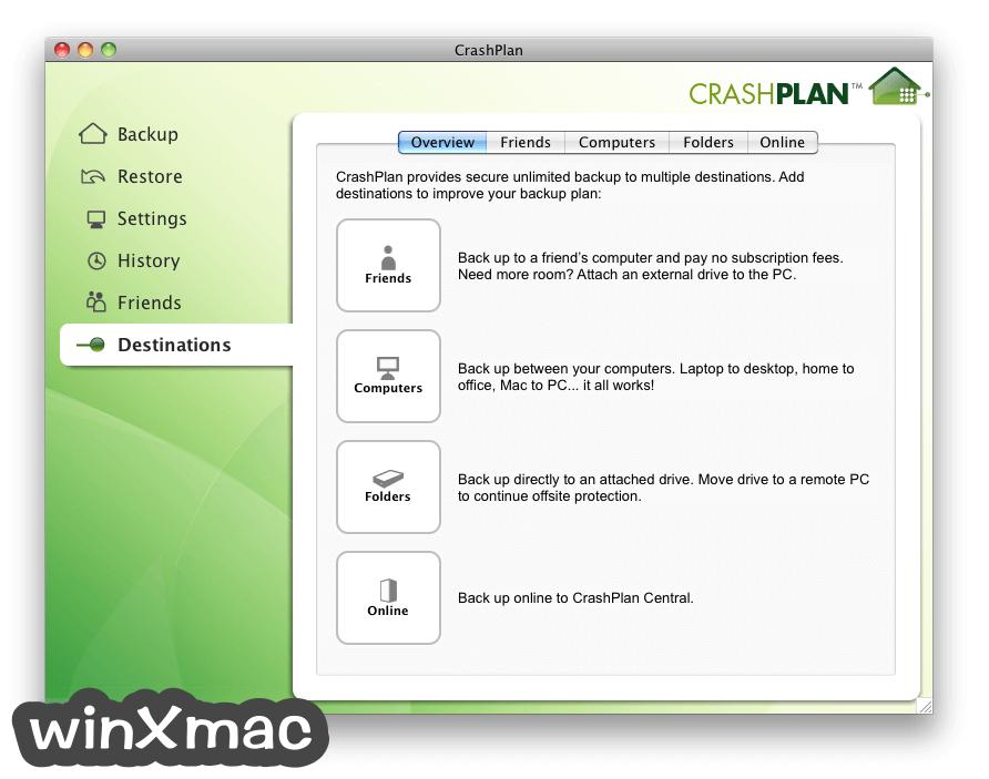 CrashPlan for Mac Screenshot 4