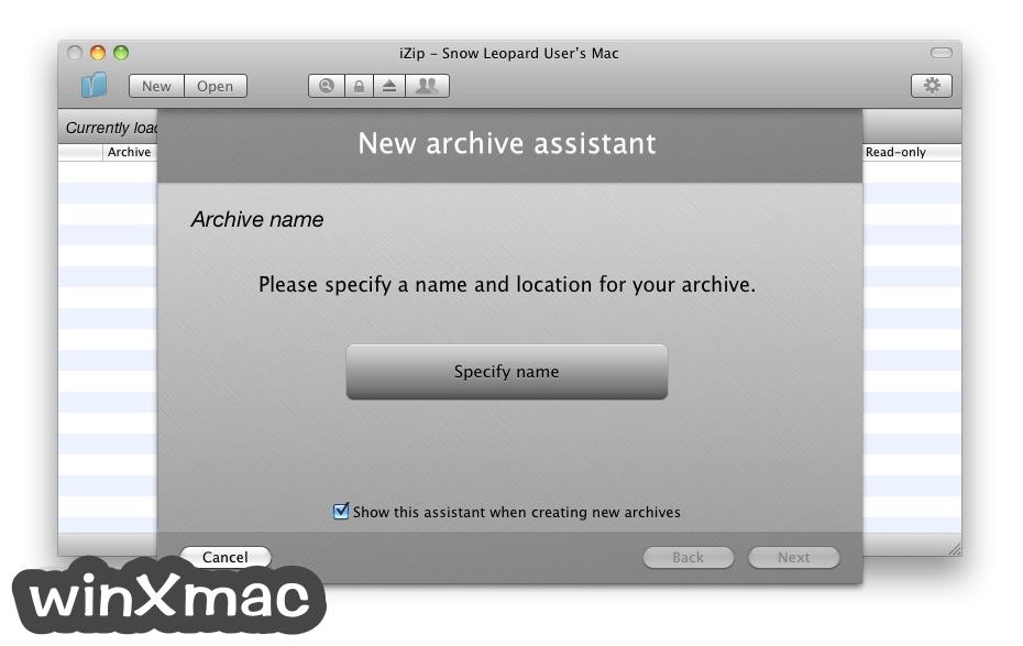 iZip for Mac Screenshot 2