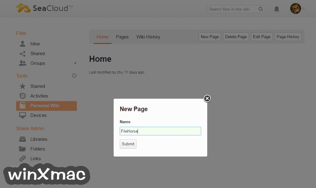 Seafile for Mac Screenshot 2