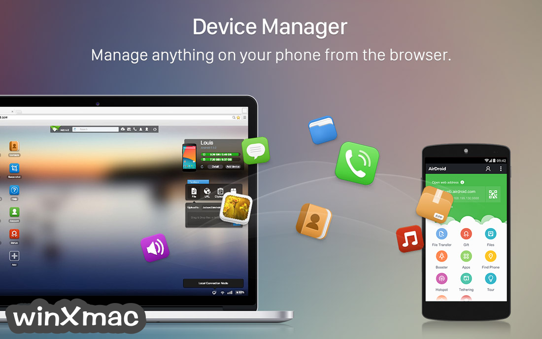 AirDroid for Mac Screenshot 2
