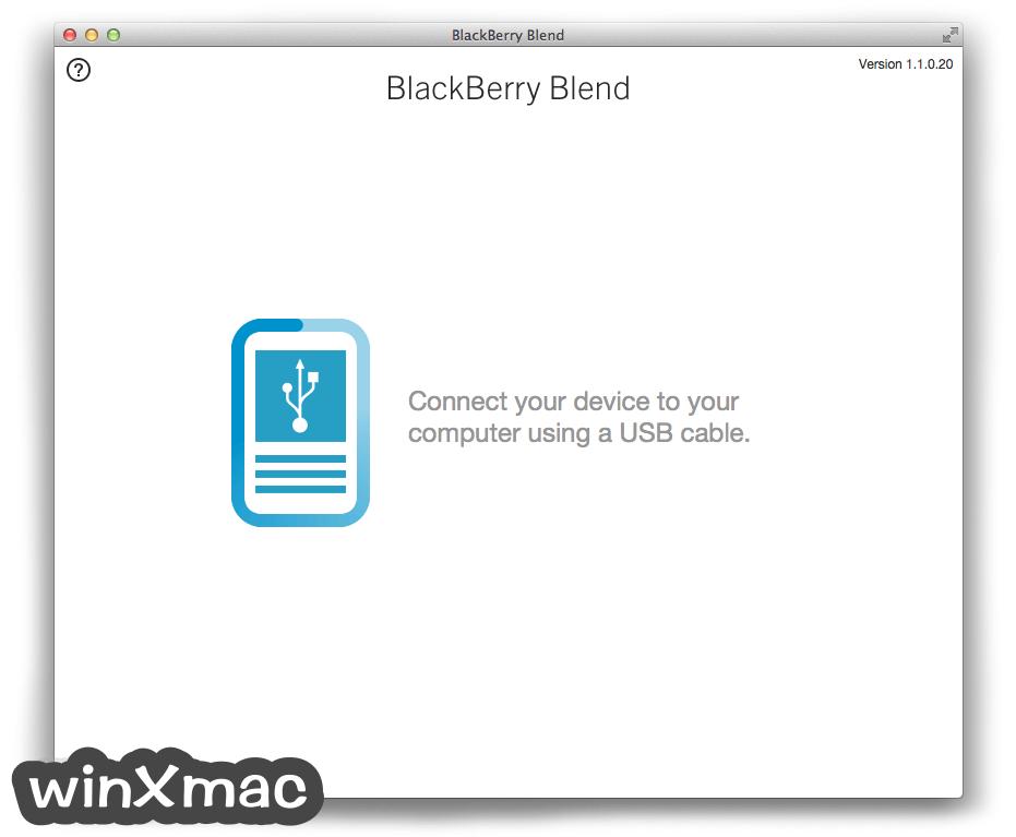 BlackBerry Blend for Mac Screenshot 4