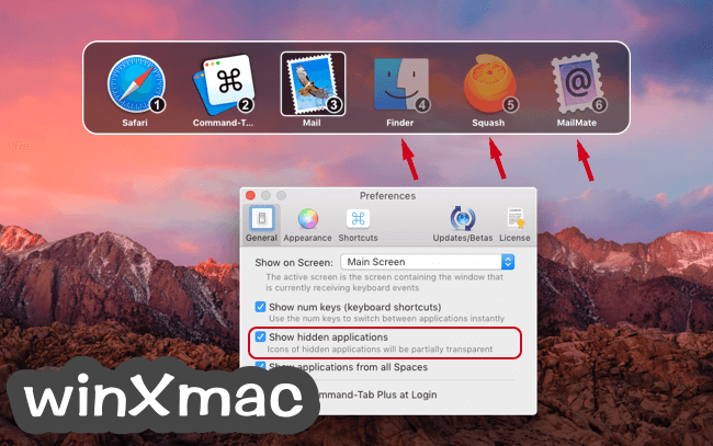 Command-Tab Plus for Mac Screenshot 1