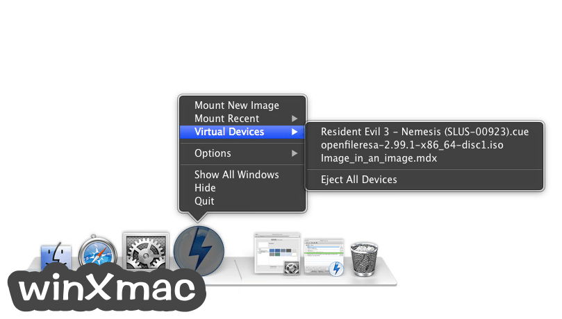 DAEMON Tools Lite for Mac Screenshot 3