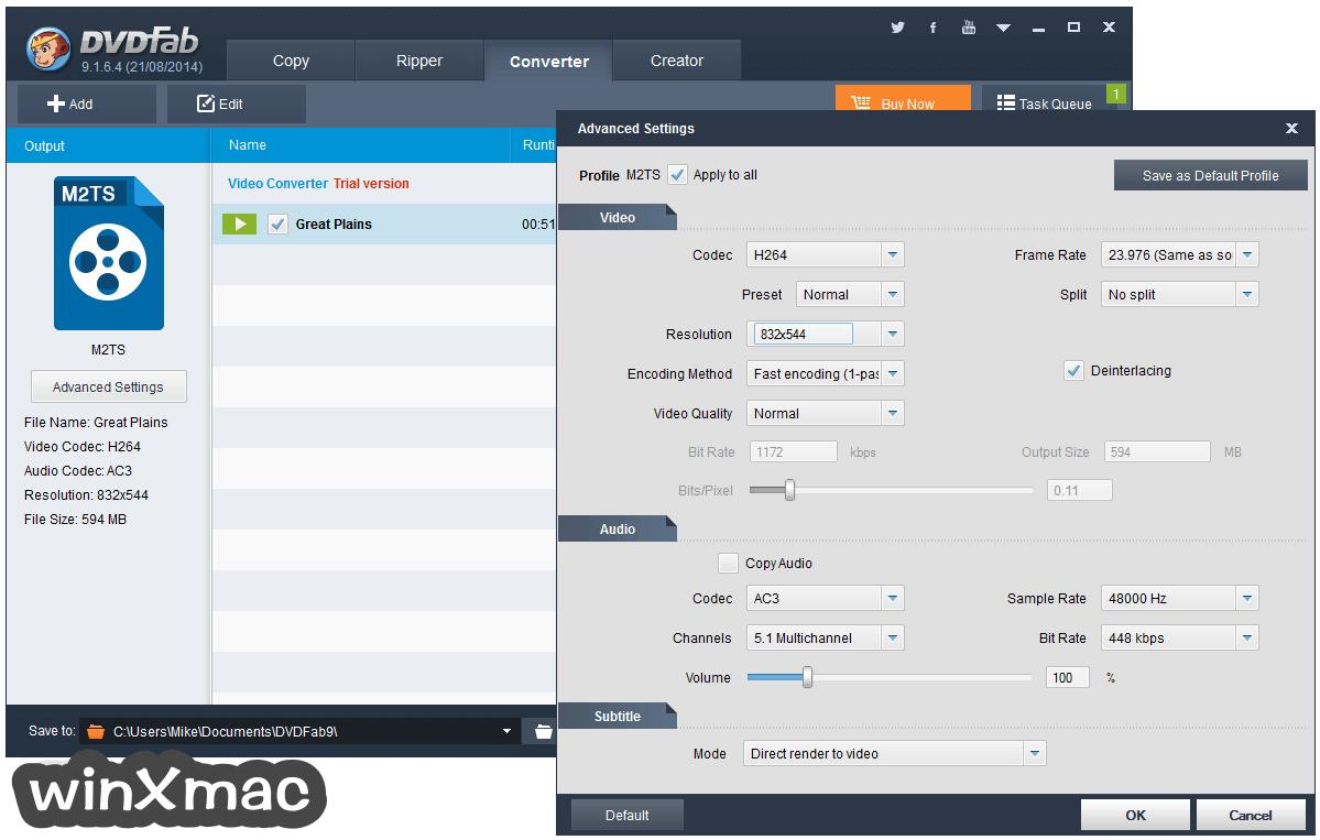 DVDFab for Mac Screenshot 3