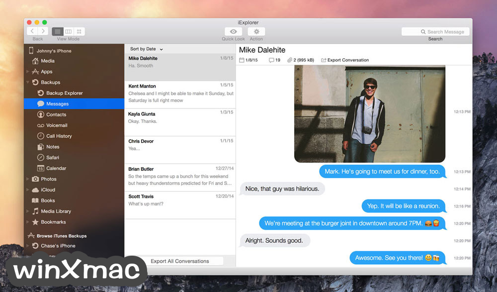 iExplorer for Mac Screenshot 2