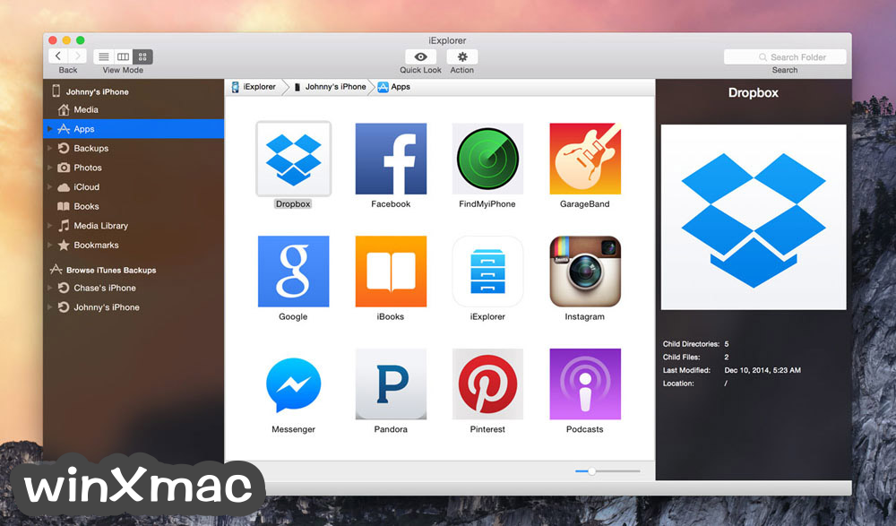 iExplorer for Mac Screenshot 5