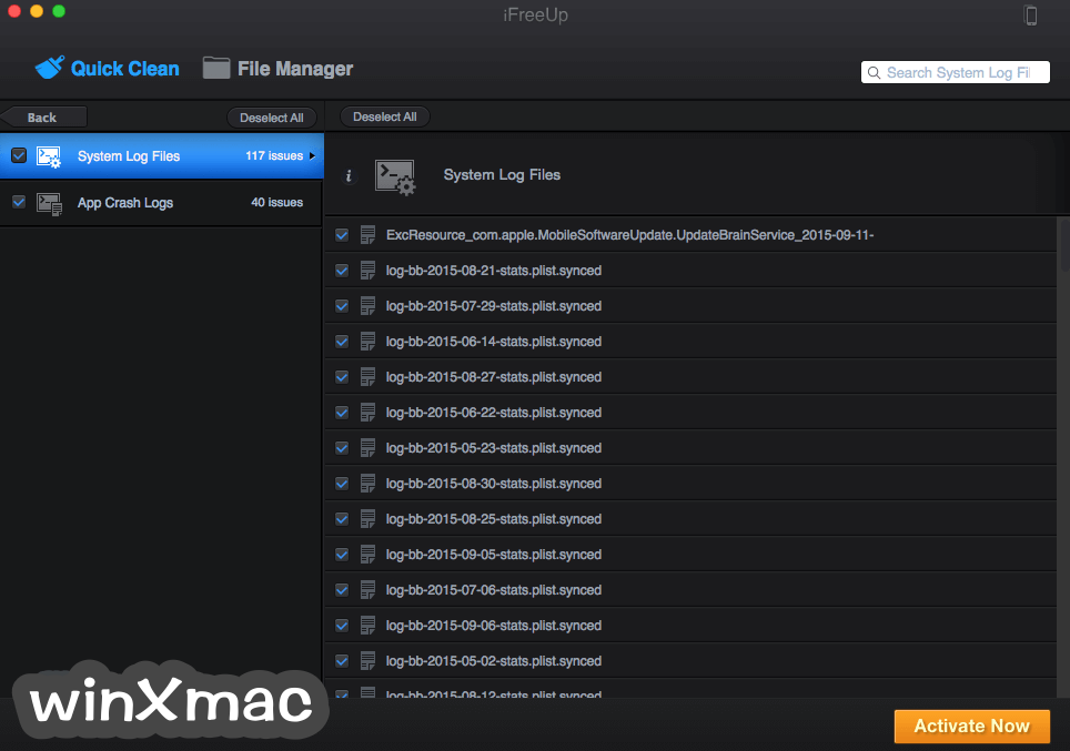 iFreeUp for Mac Screenshot 3