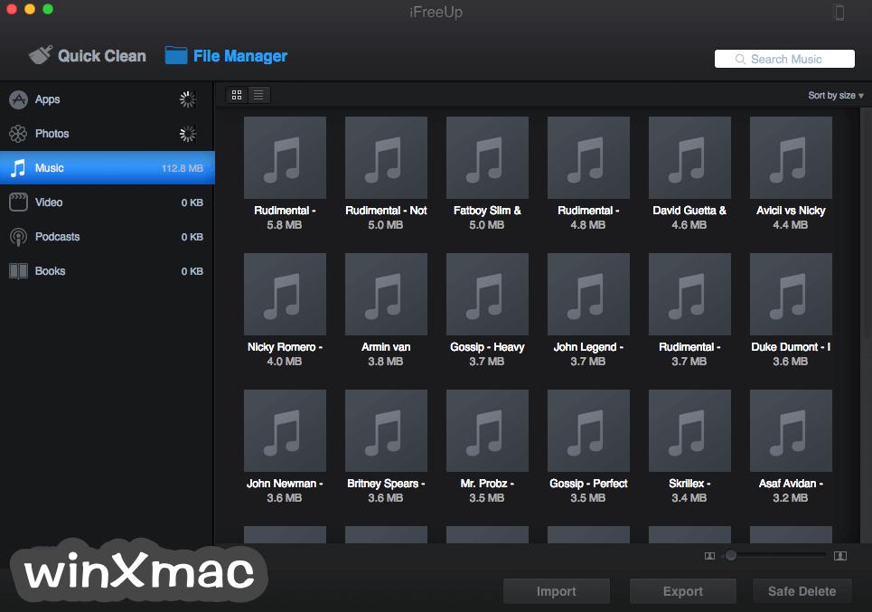 iFreeUp for Mac Screenshot 4