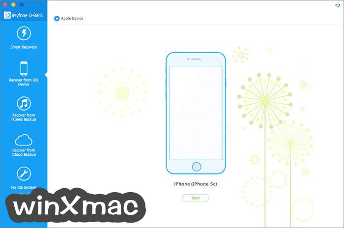 iMyfone D-Back for Mac Screenshot 3