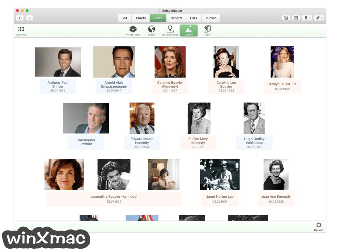 MacFamilyTree Screenshot 3