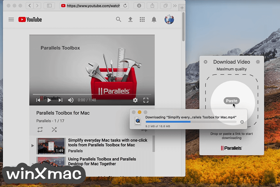 Parallels Toolbox for Mac Screenshot 4