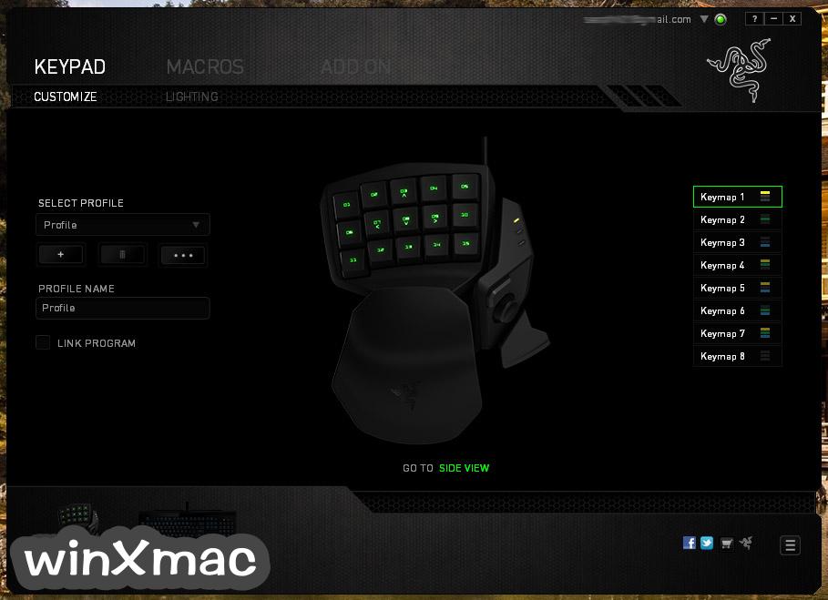 Razer Synapse for Mac Screenshot 2